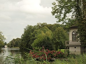 Buitenplaats - Tea house on the river Vecht, part of Gunterstein