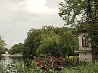 Buitenplaats - Tea house on the river Vecht, part of Gunterstein