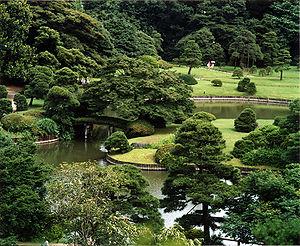 Garden - A kaiyu-shiki or strolling Japanese garden