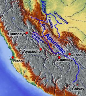 Urubamba River - Image: Rio Apurímac
