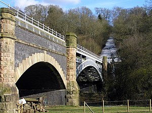 Elan aqueduct - The aqueduct over the River Severn