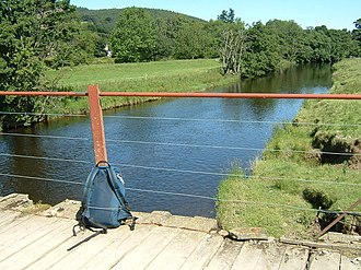 John Buchan Way - Bridge over the River Tweed at Stobo