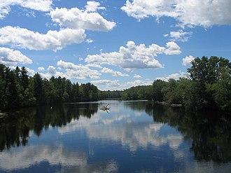 Coulonge River - Coulonge River near Pont Davidson