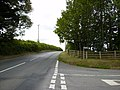 Road junction near Orleton on the B4361 - geograph.org.uk - 219480.jpg
