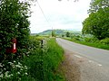 Road north-west from the Traveller's Seat - geograph.org.uk - 1346757.jpg
