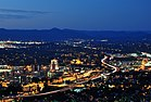 Roanoke City (Virginia) from Mill Mountain Star at Dusk.jpg