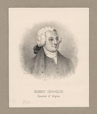 Robert Dinwiddie - Robert Dinwiddie, governor of Virginia (NYPL NYPG94-F42-419805)