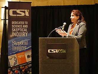Robyn Blumner - Blumner speaking at CSICon in 2017