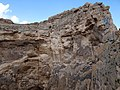 Rock Formation at Crater of Soleiman's Prison - Takht-e Soleiman - Western Iran (7421793534).jpg