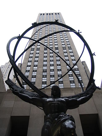 British Security Co-ordination - BSC operated from the 35th and 36th floors of the International Building, Rockefeller Center, New York during World War II