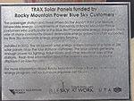 Rocky Mountain Power Blue Sky plaque, Aug 15.jpg
