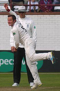 Roelof van der Merwe South African cricketer