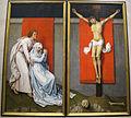 Rogier van der weyden, crocifissione con i dolenti Maria e Giovanni, 1460 ca. 01.JPG
