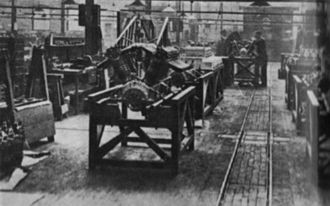Rolls-Royce Eagle - Rolls-Royce Eagle engines at Derby in 1919