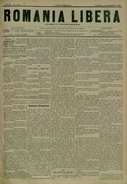 File:România liberă 1885-09-14, nr. 2442.pdf