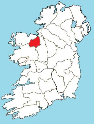 Roman Catholic Diocese of Achonry - Image: Roman Catholic Diocese of Achonry map