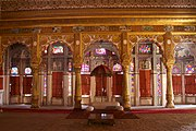 Room within palace complex at Mehrangarh