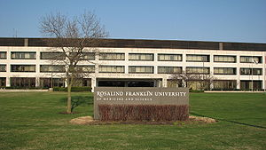 Building of the Rosalind Franklin University o...