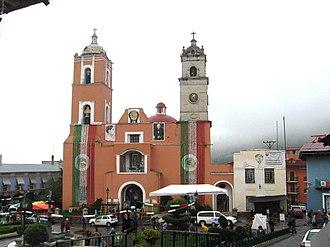 Mineral del Monte - Image: Rosario Church Real Monte