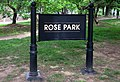 Rose Park sign - M Street.JPG