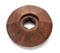 Rosett av ädelträ till passigsvarv,1670-tal - Skoklosters slott - 106075.tif