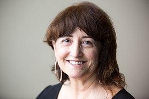Rosie Stephenson-Goodknight - Publicity shot of Stephenson-Goodknight taken by the Wikimedia Foundation in 2015