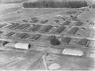 Ross Field (airfield) - Army Balloon School at Camp Ross, California, 1918
