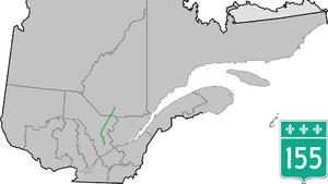Quebec Route 155 - Image: Route 155 QC