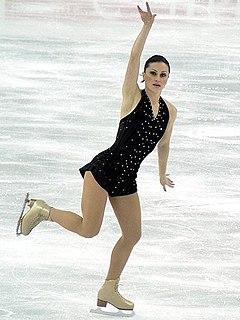 Roxana Luca Romanian figure skater