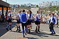 Royal Liberty Morris dancers at Broadstairs Folk Week 2017, Kent, England.jpg