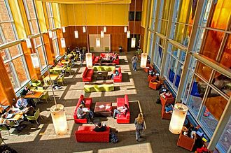 Rutgers University–Camden - RU-Camden Law School student center.
