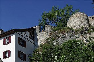 Münchenstein - Ruins of Münchenstein Castle.
