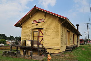 Rural Hall Depot United States historic place