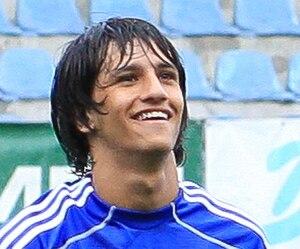 Ruslan Mingazow - Mingazow playing for Skonto Rīga