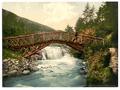 Rustic Bridge in Glenariff. County Antrim, Ireland-LCCN2002717351.tif