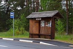 Säpina - Image: Säpina bussipeatus