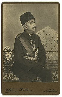 Mehmed VI 36th and last Sultan of the Ottoman Empire