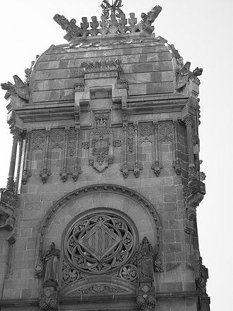 Passeig de Lluís Companys, Barcelona - Image: S7001831