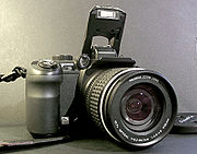 The Fujifilm FinePix S9000 bridge camera