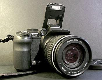 The Fujifilm FinePix S9000 bridge camera