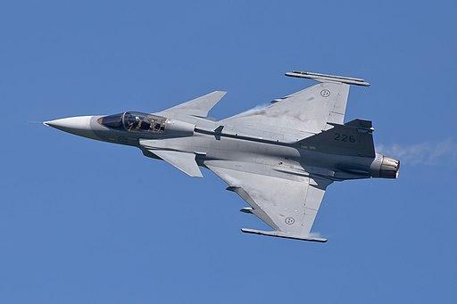 SAAB JAS39 Gripen-7763 - Flickr - Ragnhild & Neil Crawford