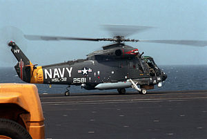 SH-2F HSL-32 on USS Theodore Roosevelt (CVN-71) 1988.JPEG