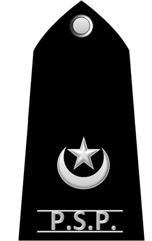 Superintendent (police) - Image: SP pakistan 1