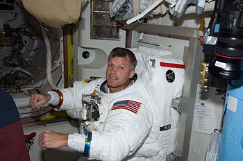 Astronaut Steve Swanson, STS-119 mission speci...