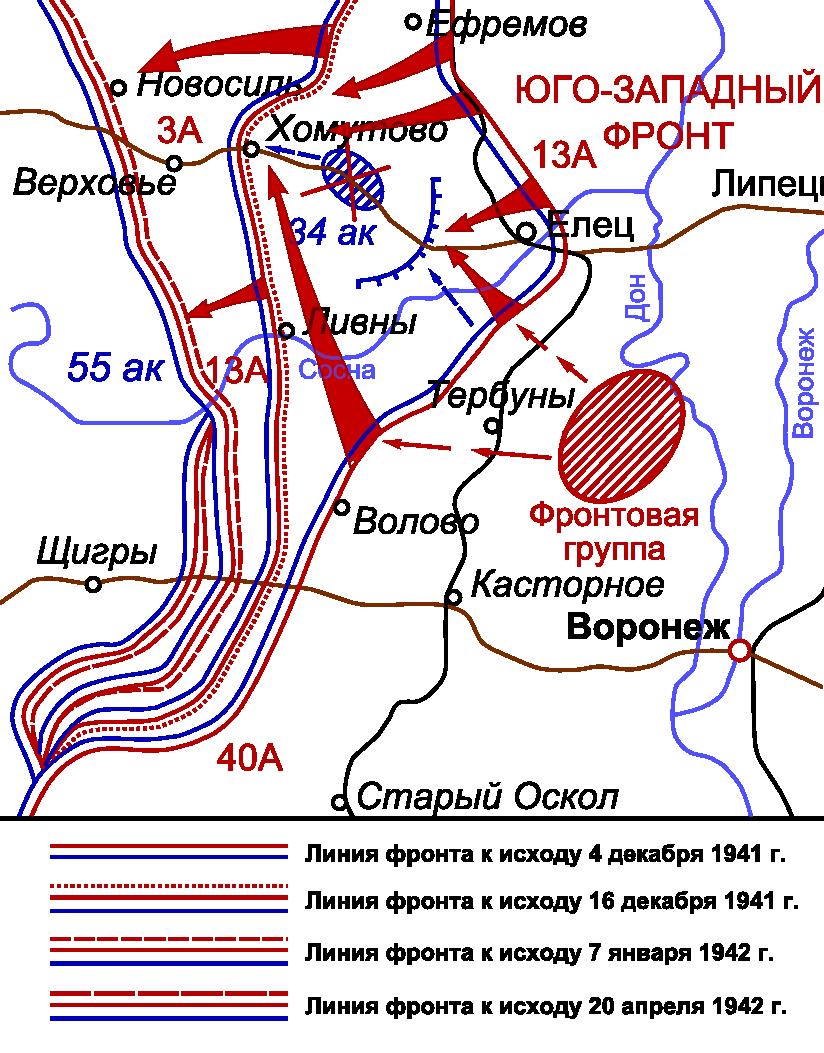 SW dir map 1941 1942
