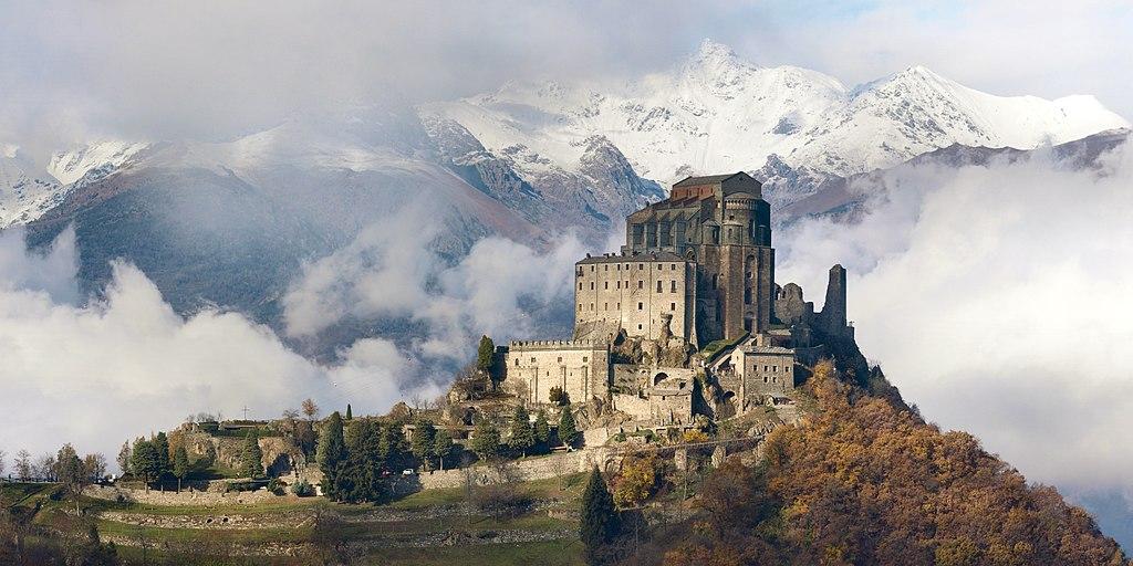 Sacra di San Michele, près de Turin - Photo de Elio Pallard