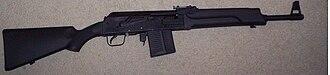 Saiga semi-automatic rifle - The Saiga-308 rifle