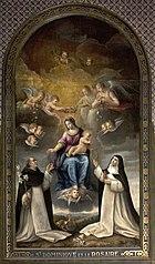 Saint Dominique et le Rosaire