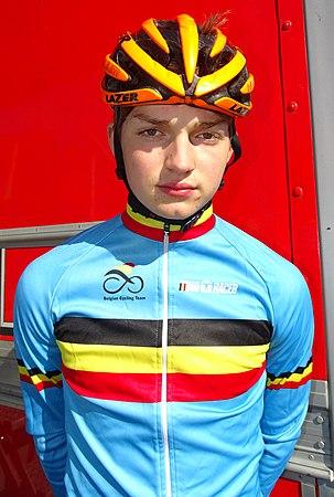 Saint-Amand-les-Eaux - Paris-Roubaix juniors, 10 avril 2016, départ (B152).JPG