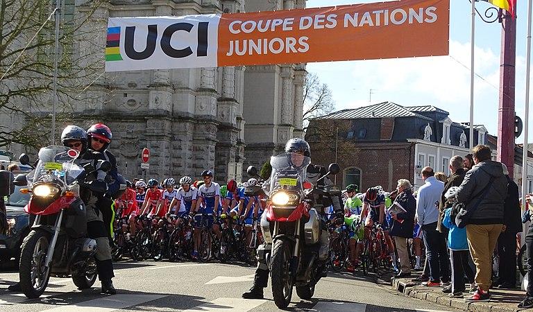 Saint-Amand-les-Eaux - Paris-Roubaix juniors, 10 avril 2016, départ (C35).JPG